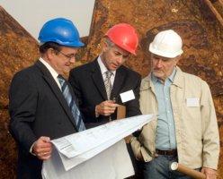 Lageplan erstellen auf der Baustelle